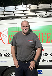 Neil Coupe - founder of Aerial Waves