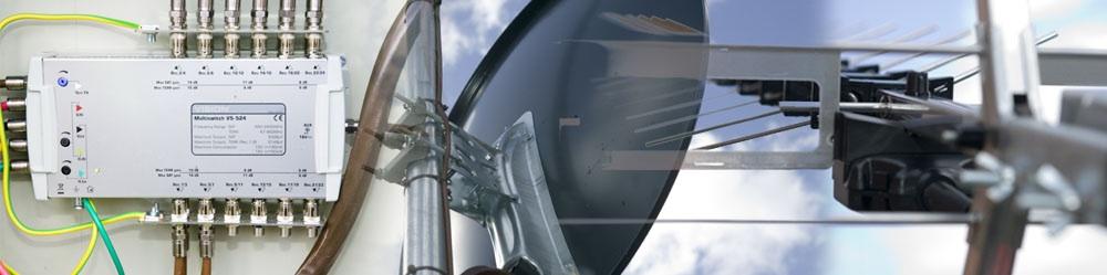 Multiswitch and 90cm satellite dish