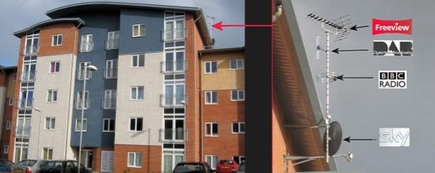 Apartment block of 12 homes